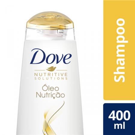 Shampoo Dove Óleo Nutrição para Cabelos Secos 400ml
