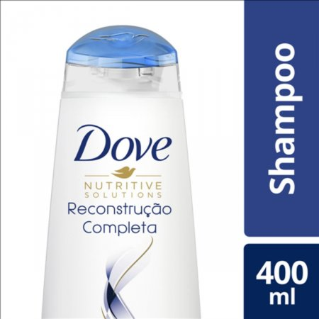 Shampoo Dove Reconstrução Completa para Cabelos Danificados 400ml