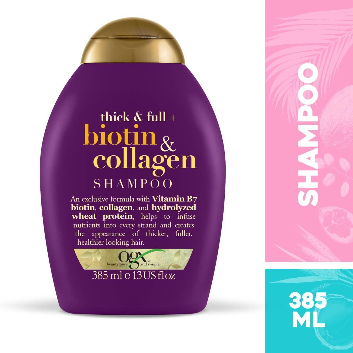 Shampoo Ogx Biotin e Collagen 385ml 385ml