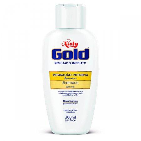 Shampoo Niely Gold Reparação Intensa