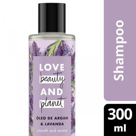 Shampoo Love Beauty and Planet Óleo de Argan e Lavanda com 300ml