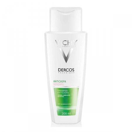 Shampoo Anticaspa Vichy Dercos Couro Cabeludo Sensível com 200ml