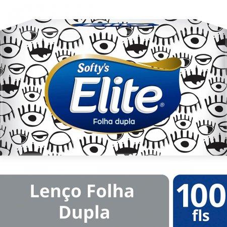 Lenço Elite Softy's 100 Unidades