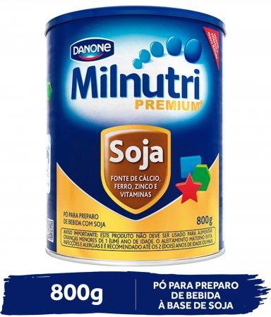 Composto Lacteo Milnutri Premium Soja 800g
