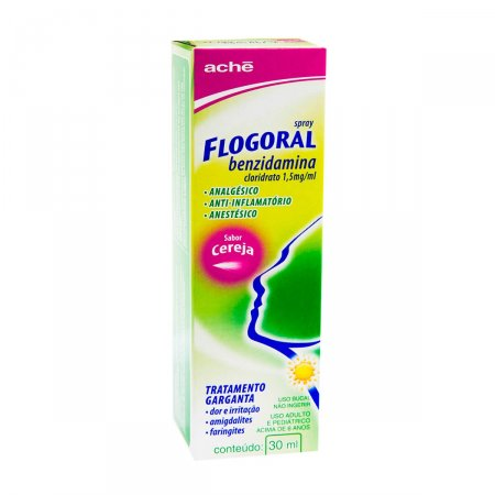 Spray Flogoral Sabor Cereja