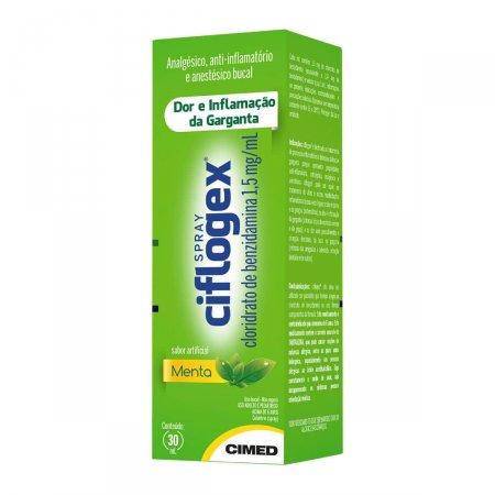 Spray Ciflogex Sabor Menta