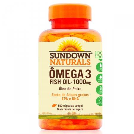 Ômega 3 Sundown Fish Oil
