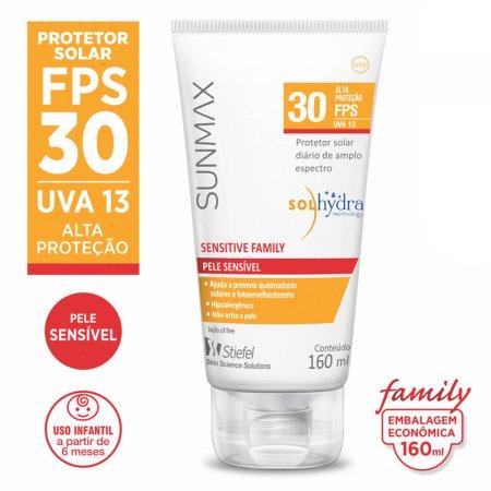 Protetor Solar Sunmax Sensitive Family FPS 30