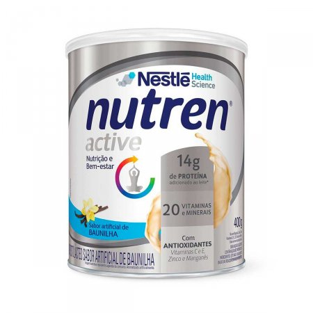 Suplemento Alimentar Nutren Active Baunilha 400g
