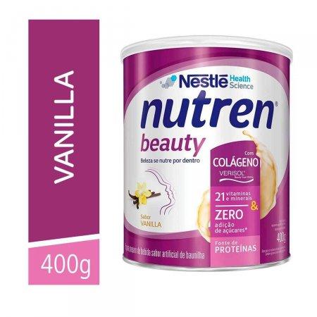 Suplemento Alimentar Nestlé Nutren Beauty Sabor Baunilha com 400g