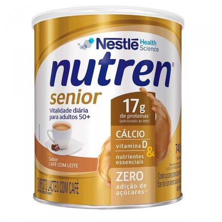 Suplemento Alimentar Nutren Senior Sabor Café com Leite