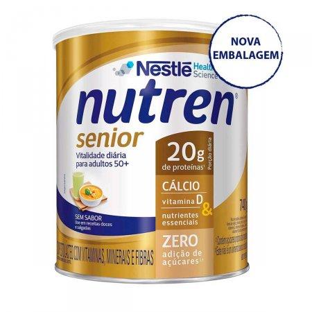 Suplemento Alimentar Nutren Senior Sem Sabor