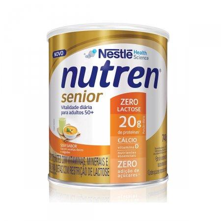 Suplemento Alimentar Nutren Senior Zero Lactose Sem Sabor