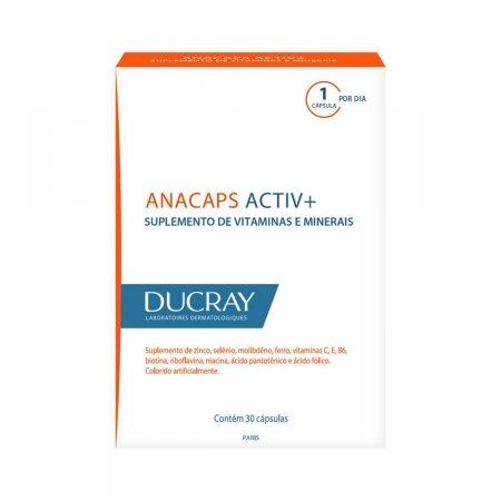 Suplemento de Vitaminas e Minerais Anacaps Activ+