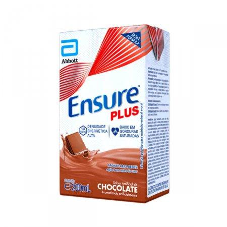 Suplemento Nutricional Ensure Plus Sabor Chocolate