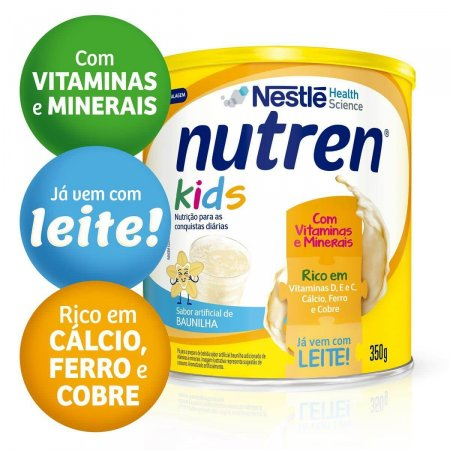 Suplemento Alimentar Nutren Kids Baunilha 350g