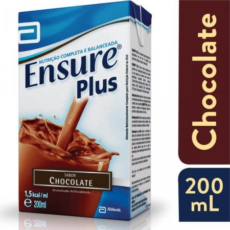 Suplemento Alimentar Ensure Plus Chocolate 200mL