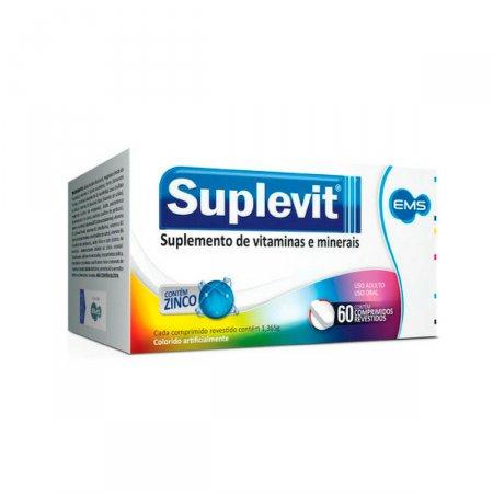 Suplemento Vitamínico Mineral Suplevit com 60 comprimidos