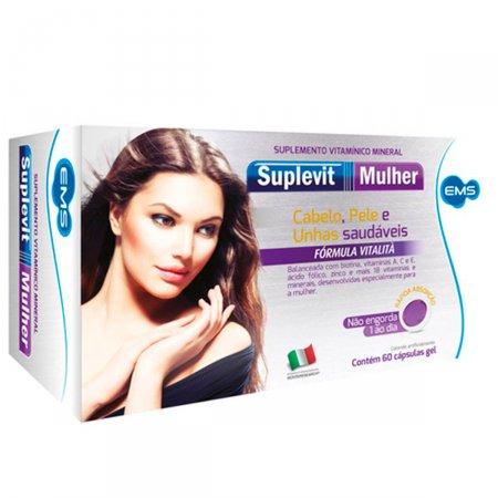 Suplemento Vitamínico Mineral Suplevit Mulher
