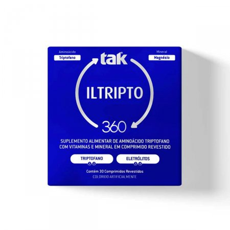 Tak 360 Iltripto com 30 Comprimidos  