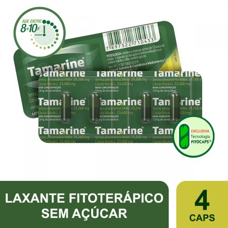 Tamarine 12mg Com 4 Cápsulas| Drogaraia.com Foto 2