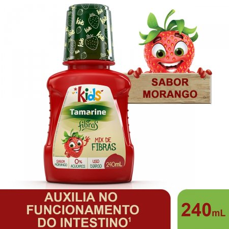 Tamarine Fibras Kids 240ml | Drogaraia.com Foto 2