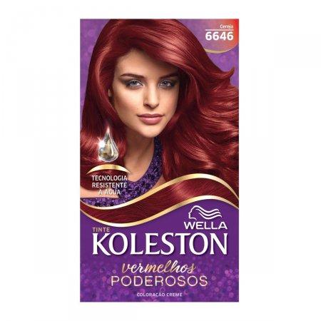 Tintura Koleston Vermelhos Poderosos Cereja 6646