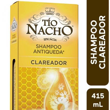 Shampoo Antiqueda Tío Nacho Clareador com 415ml