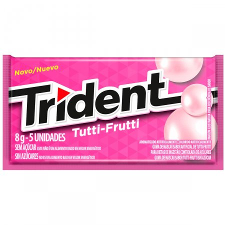 Goma de Mascar Trident Tutti-Frutti
