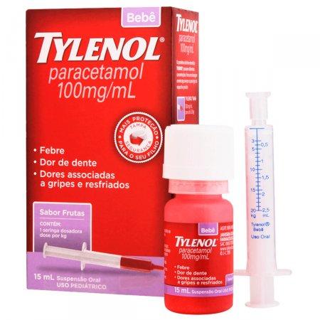 Tylenol Bebê Suspensão 15ml