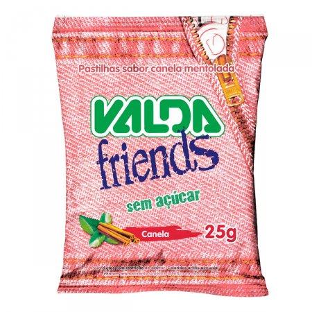 Pastilha Valda Friends Sabor Canela Sem Açucar 25g