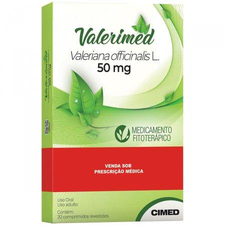 Valerimed 50mg Com 20 Comprimidos