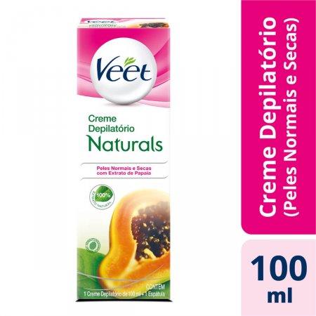 Creme Depilatório Veet Naturals Papaya