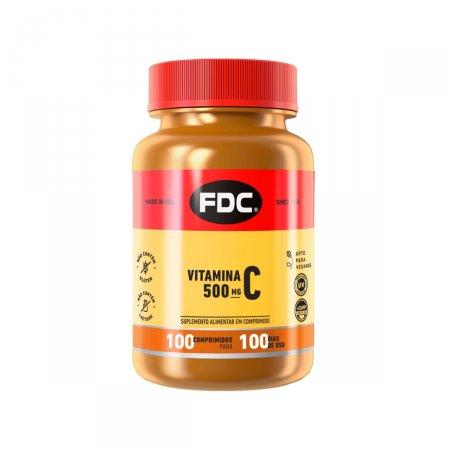 Vitamina C 500mg FDC com 100 Comprimidos