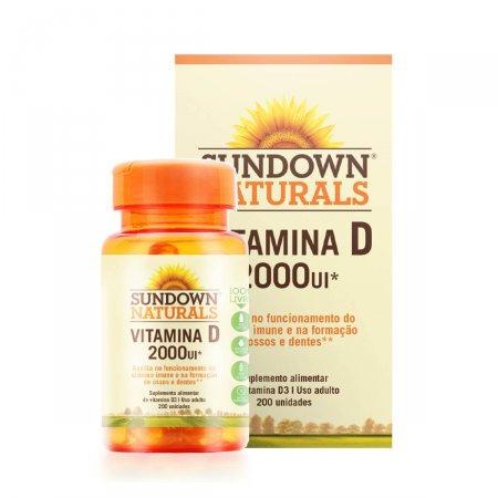 Vitamina D3 2.000UI Sundown Naturals com 200 comprimidos | Foto 1