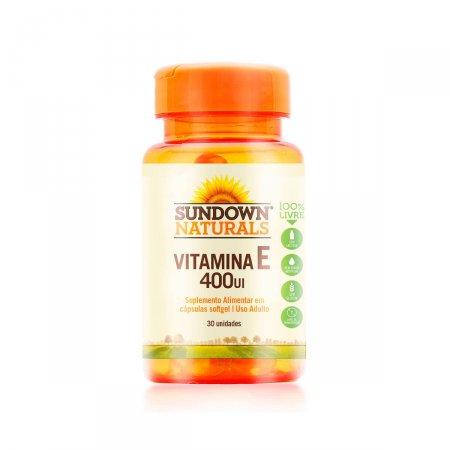 Vitamina E 1000UI Sundown com 30 Cápsulas
