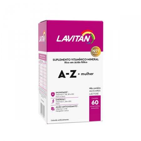Suplemento Vitamínico Lavitan A - Z Mulher com 60 comprimidos