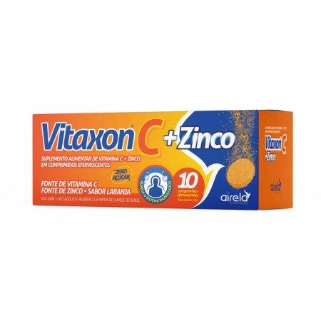 Vitaxon C + Zinco com 10 Comprimidos |
