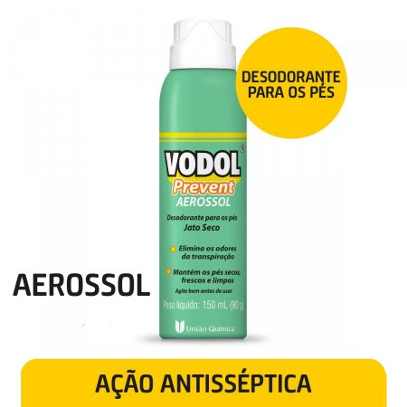 Desodorante Aerosol para os Pés Vodol Prevent 150ml