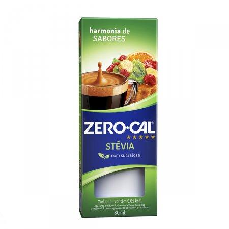 Adoçante Zerocal Stévia Sucralose 80ml